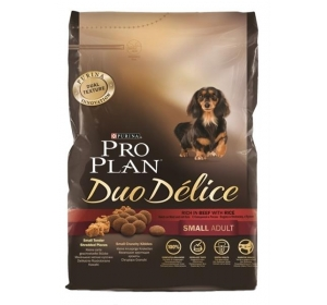 Purina PRO PLAN Dog Adult Duo Délice Small Beef 2,5kg