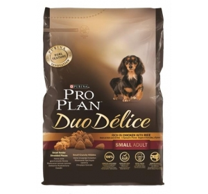 Purina PRO PLAN Dog Adult Duo Délice Small Chicken 2,5kg Výprodej expirace 5/16