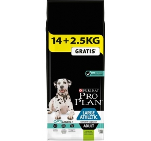 Purina PRO PLAN Dog Adult Large Athl.Sens.Dig.Lamb 14+2,5 kg zdarma