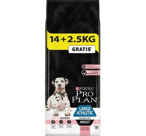 Purina PRO PLAN Dog Adult Large Athletic Sens.Skin 14+2,5 kg zdarma