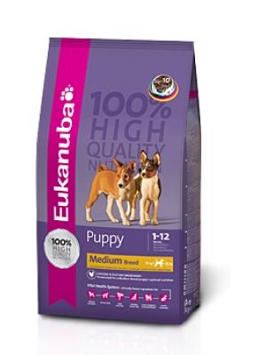 Eukanuba Puppy Junior Medium Breed 3 kg