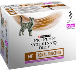 Purina PPVD Feline - NF Renal Funct.Salmon kapsička 10x85 g