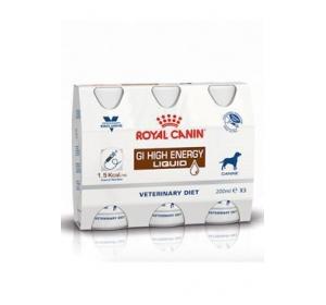 Royal Canin VD Dog Gastro Intestinal HE Liquid 3x200ml