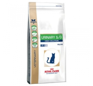 Royal Canin VD Cat Dry Urinary S/O High Dilution 7 kg