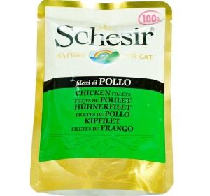 Schesir cat kaps. kuřecí filety 100 g