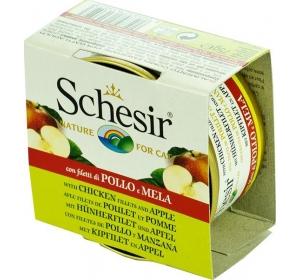 Schesir cat konz. Fruit - kuřecí s jablkem 75 g