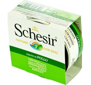 Schesir dog konz. kuřecí filety 150 g