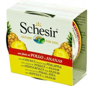 Schesir dog konz. kuřecí s ananasem 150 g