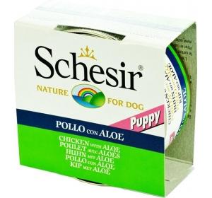 Schesir puppy konz. kuře s aloe vera 150 g
