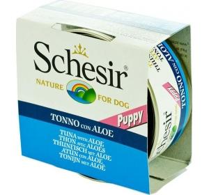 Schesir puppy konz. tuňák s aloe vera 150 g