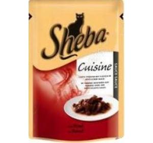 Sheba kaps. - CUISINE hovězí ve šťávě 85 g