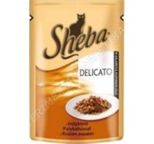 Sheba kaps. - DELICATO krůtí v želé 85 g