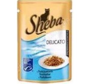 Sheba kaps. - DELICATO tuňák v želé 85 g