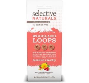 Supreme Selective snack Naturals Woodland Loops 60 g