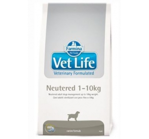Vet Life Dog Neutered 1-10kg 10kg
