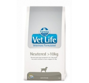 Vet Life Dog Neutered >10kg 2kg