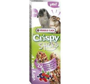 VL Crispy tyč králík, činčila - lesní ovoce 2 ks, 110 g