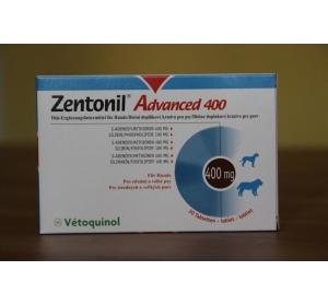 Zentonil Advanced 400 30 tbl