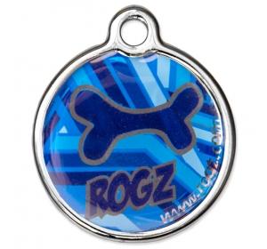 Známka ROGZ Metal Navy Zen kovová S